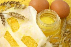 maseczka jajeczna