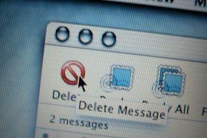 usuwanie wiadomosci