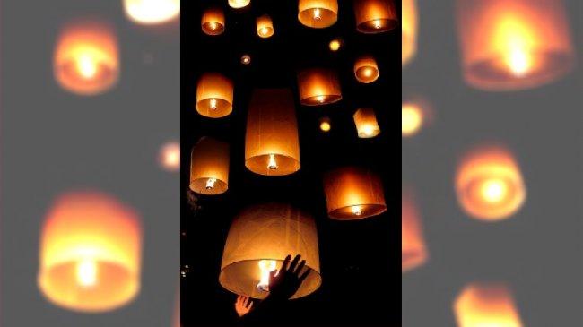Latające lampiony