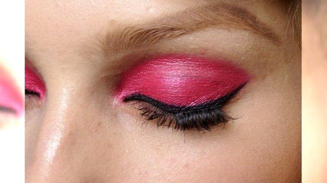 Makijaż pokazu Dior