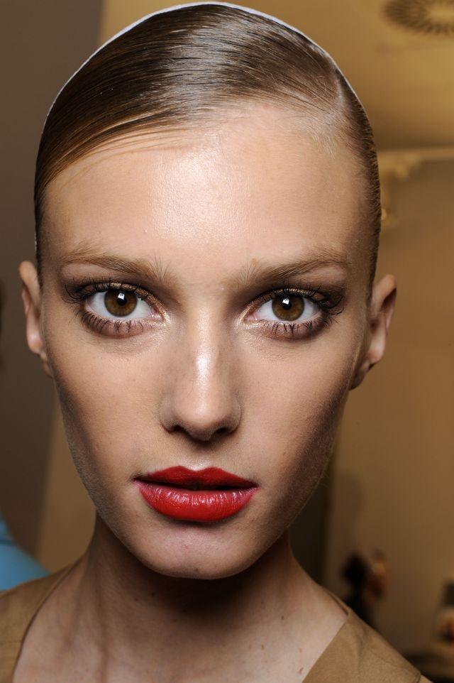 Makijaż pokazu Gucci