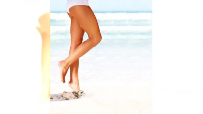 Opalone nogi