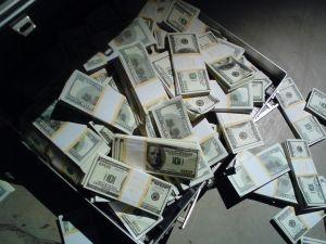 walizka pieniedzy