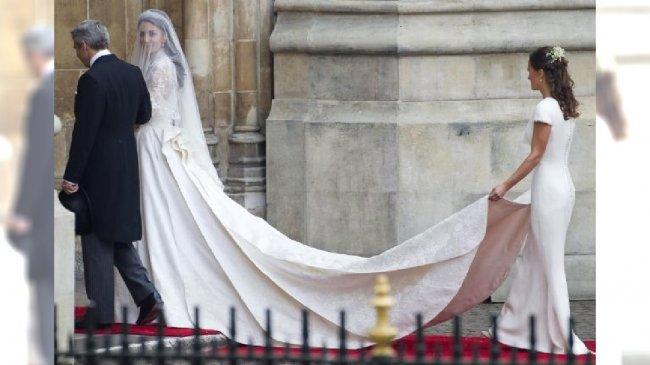 Kate Middleton suknia ślubna
