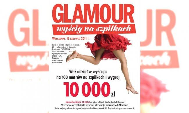 Wyścig na szpilkach Glamour