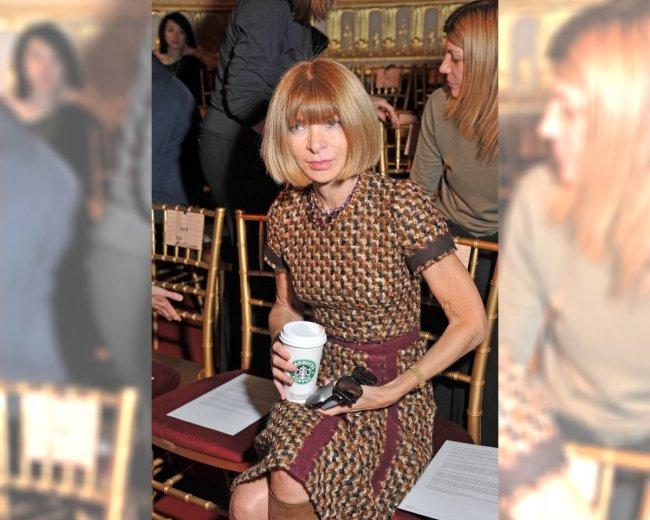 Anna Wintour na pokazie Johna Galliano