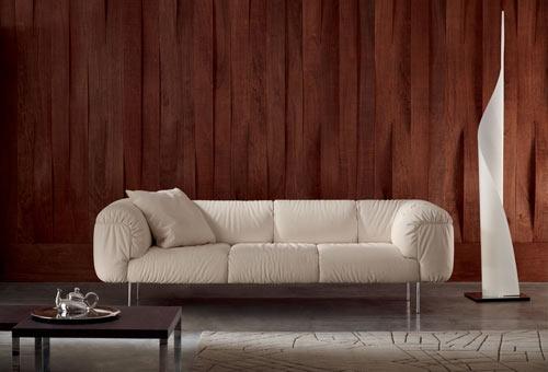 Sofa Bebop (projekt: Cini Boeri dla Poltrona Frau)