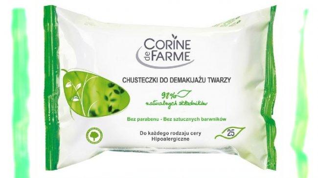 Chusteczki do demakijażu Corine de Farme