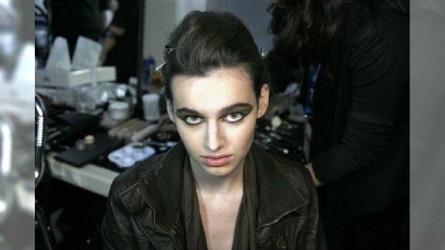Makijaż na pokazie Ashley Isham