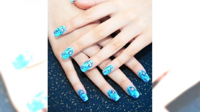 Morski manicure