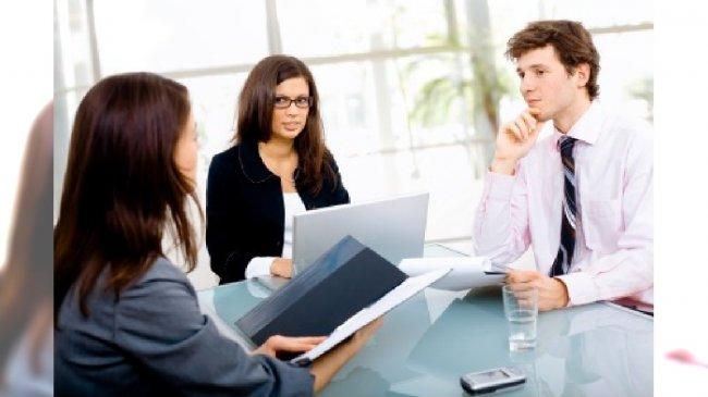 Rozmowa w biurze