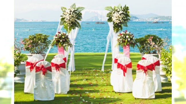 Ślub w czasie lata