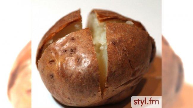 Znalezione obrazy dla zapytania pieczony ziemniak