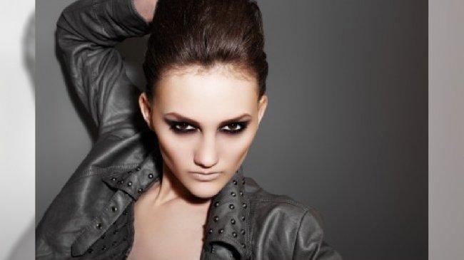 Rockowy makijaż