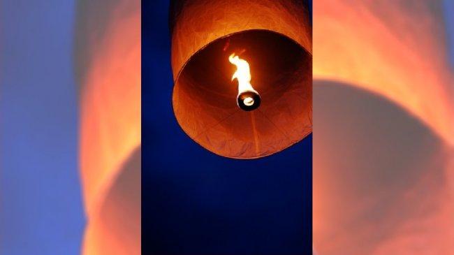 Latający lampion