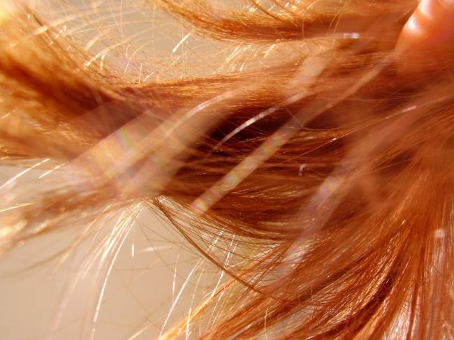 Ogniste włosy