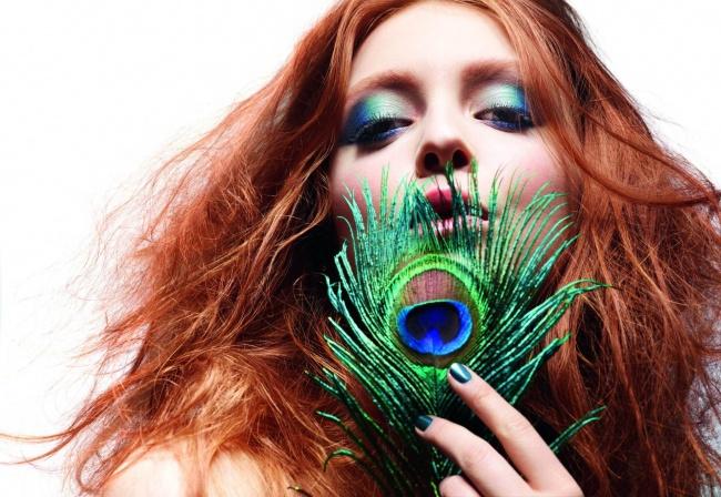 Sephora Cesarski Błękit - trendy w makijażu 2011