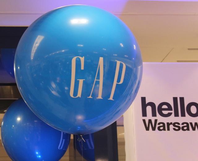 Otwarcie Gap Warszawa /fot. Eustachy Bielecki