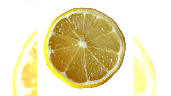 Przekrojona cytryna