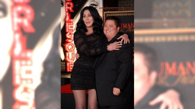 Chaz Bono z mamą Cher