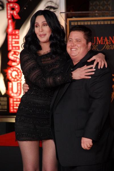 Chaz Bono i Cher