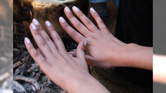Wzorzysty manicure