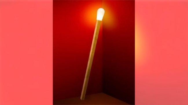 lampa zapałka