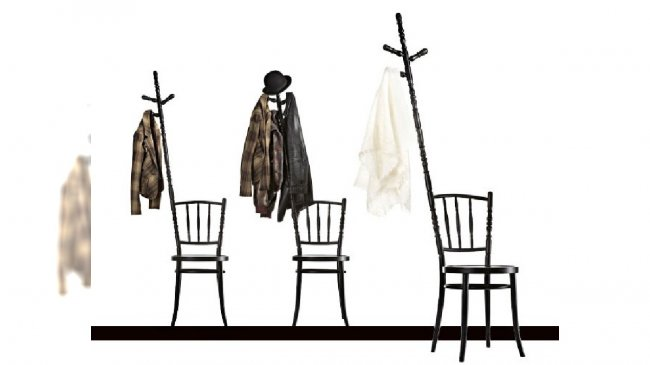 krzesło-wieszak