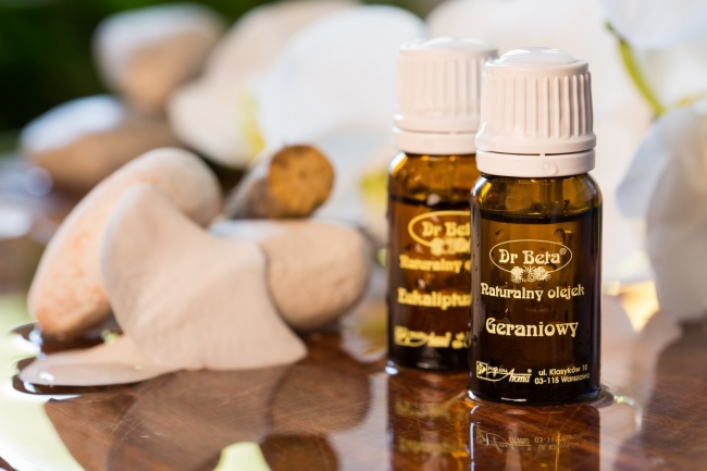 Dr Beta, olejek geraniowy