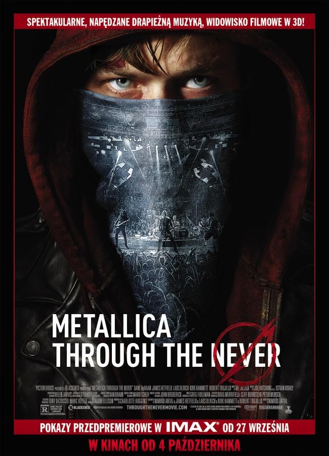 'Metallica Through The Never' - plakat
