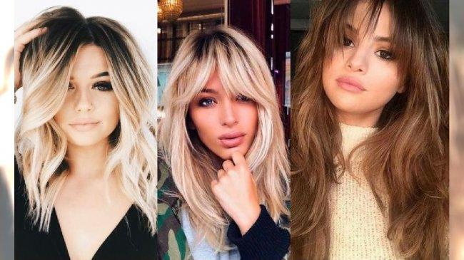 modne damskie wyszczuplające fryzury 2019 najnowsze trendy