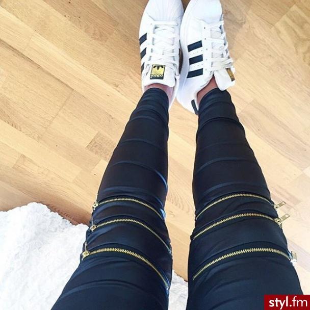 Leginsy Spodnie Moda