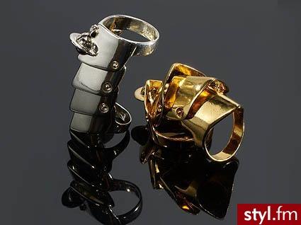 Armour ring. Vivienne Eastwood - Pozostałe Dodatki Moda