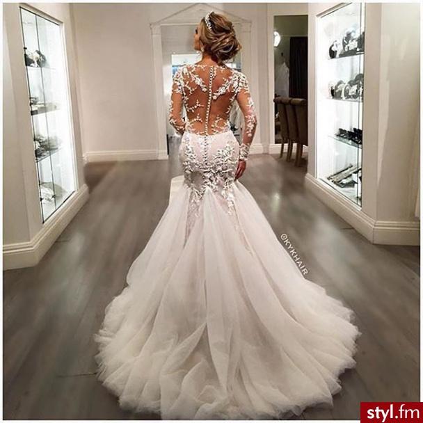 Moda lub suknie lubne for Wedding dress instagram