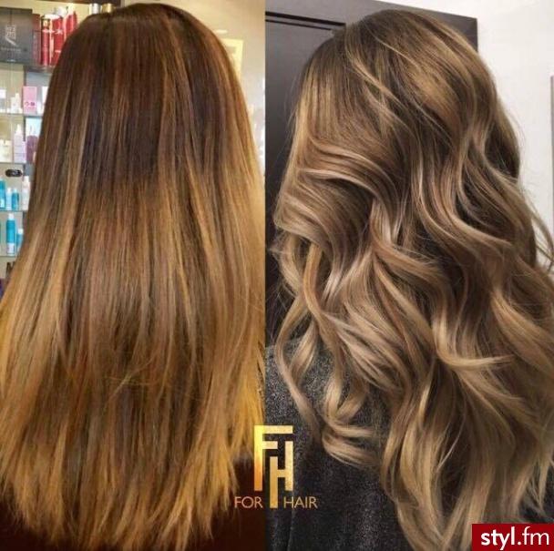https://forhairsobieski.pl/ sombre blond Warszawa - Blond Rozpuszczone Kręcone Na co dzień Długie Fryzury
