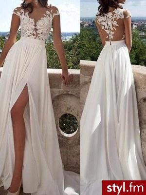 https://www.missysin.co.uk/wedding-dresses/  - Na co dzień Średnie Fryzury