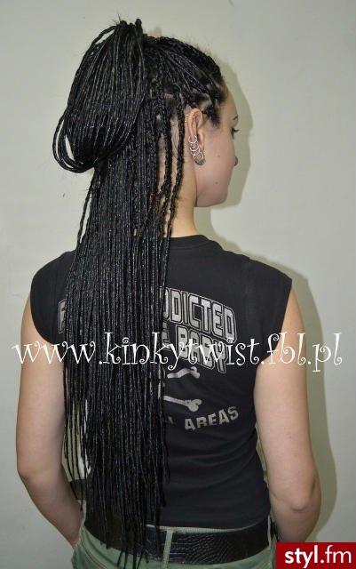 dredloki - Czarne Dredy Alternatywne Długie Fryzury