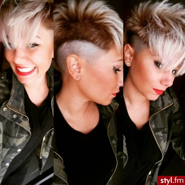 Blond Rozpuszczone Proste z grzywką Na co dzień Krótkie Fryzury