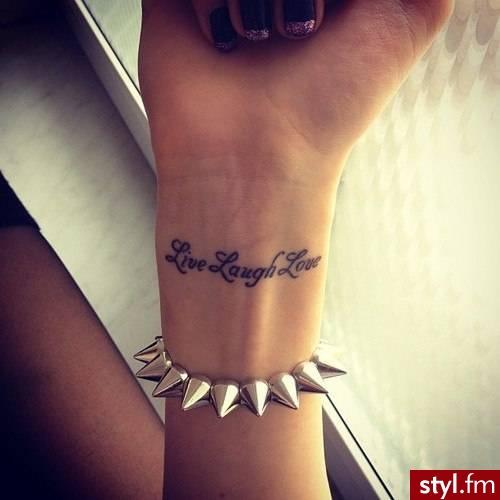 ŻycieŚmiechMiłośc - Tatuaże