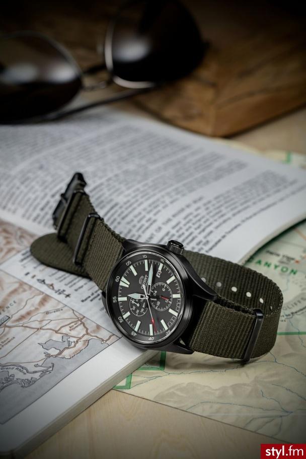 Kapsułowa kolekcja sportowych zegarków ORIENT pojawi się na rynku już w sierpniu 2019. Odświeżono design w tym indeksy i wskazówki, dodano wyrafinowaną obudowę i czerwone niuanse tworzące sportowy charakter. W środku kaliber F6. www.orientwatch.pl  - Zegarki Dodatki Moda