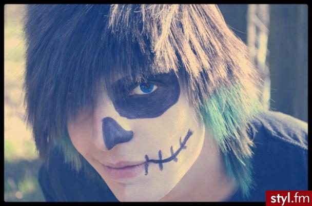 Turkusowe :3 - Kolorowe Punk Rock Alternatywne Średnie Męskie Fryzury