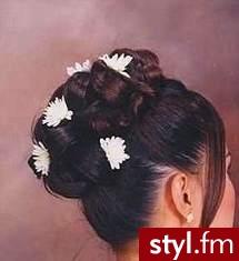 fryzury damskie wieczorowe. Fryzury ślubne, wieczorowe. fryzury damskie wieczorowe - Internetowy Katalog Fryzur IKF.com.pl, propozycje fryzur na każdą okazję np. fryzury 2008 - Ślubne Średnie Fryzury