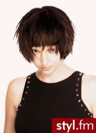 krótkie włosy - Krótkie Fryzury