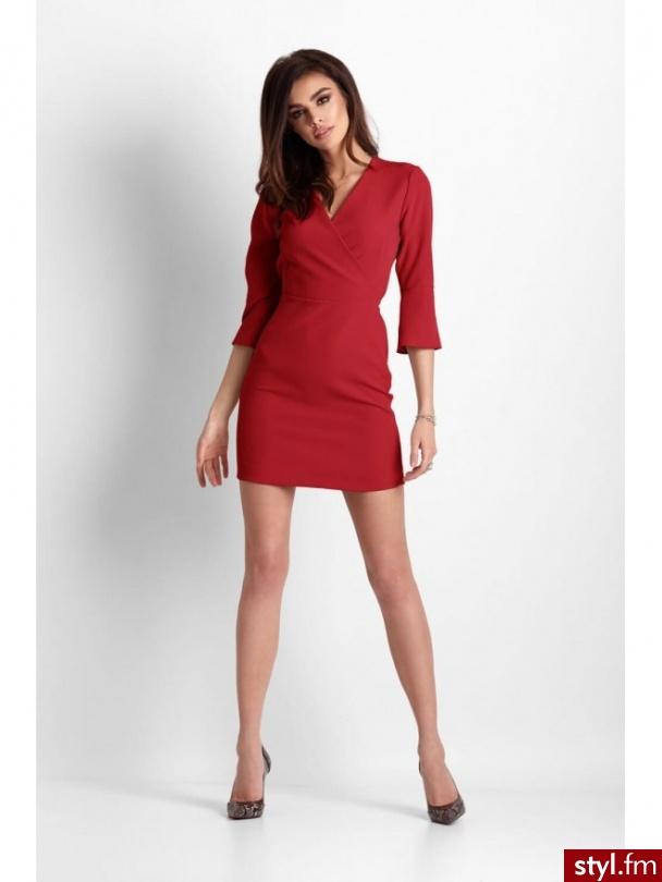 https://sensistore.pl/sukienki/sukienka-blanche-czerwona.html - Wieczorowe Sukienki Moda