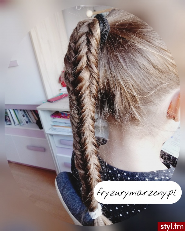 Boxed fishtail braid - Długie Fryzury