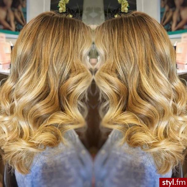 https://forhairsobieski.pl/ sombre blond Warszawa - Blond Rozpuszczone Kręcone Wieczorowe Długie Fryzury