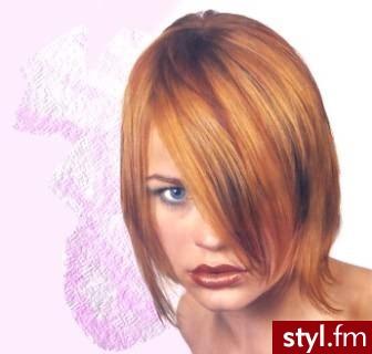 nowoczesne fryzury. Fryzury - włosy średnie. nowoczesne fryzury - Internetowy Katalog Fryzur IKF.com.pl, propozycje fryzur na każdą okazję np. fryzury na - Średnie Fryzury