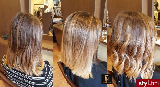 Fryzury średnie Włosy Fryzury średnie Forhair 3106880
