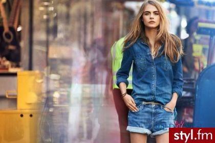 Jeansowe koszule nadal modne idealne na jesień ;) - Koszule Ciuchy Moda