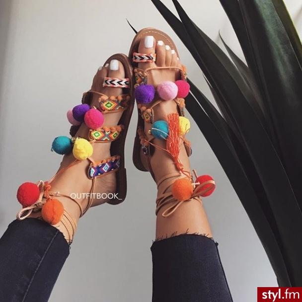 Sandały Buty Moda